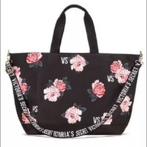 Victoria Secret's Floral Tote Bag